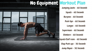no equipment workout plan