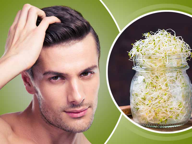 Sprout benefits for hair